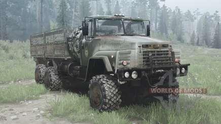 КрАЗ 260 6x6 для MudRunner