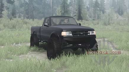 Ford Ranger Regular Cab 1997 solid axle для MudRunner