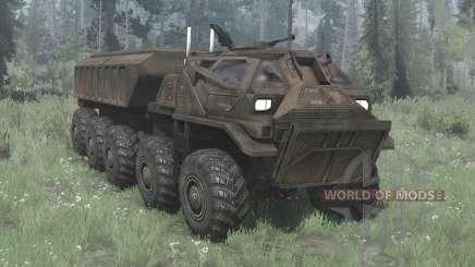 EDF Supply Truck для MudRunner