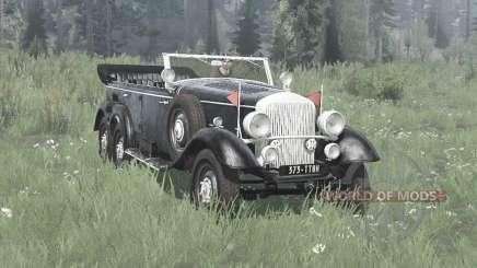 Mercedes-Benz G4 (W31) 1938 для MudRunner