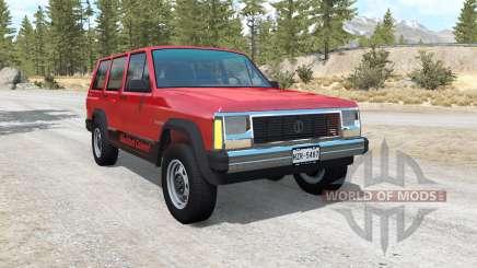 Jeep Cherokee (XJ) для BeamNG Drive