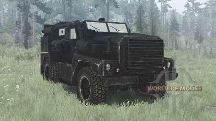 Cougar 4x4 MRAP 2002 для MudRunner