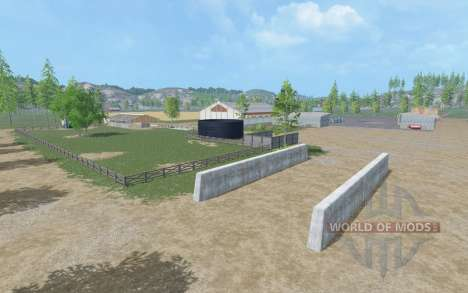 Hard Workin v2.0 для Farming Simulator 2015