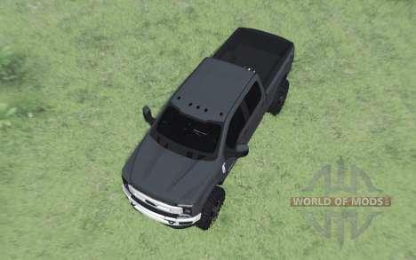 Ford F-350 Super Duty Crew Cab 2017 для Spin Tires