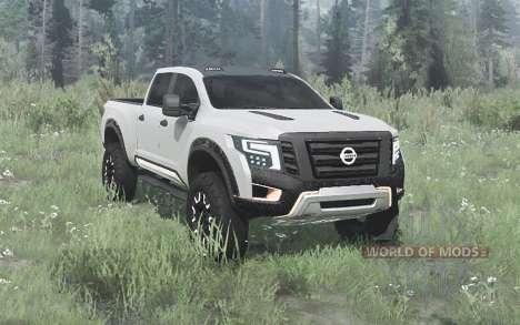 Nissan Titan Warrior concept 2016 для Spintires MudRunner