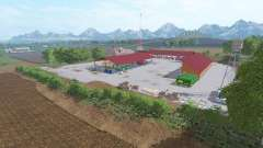 Kcender Valley для Farming Simulator 2017