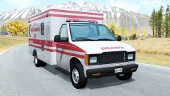 Gavril H-Series Turkish Ambulance skin для BeamNG Drive