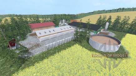 Hochkamp для Farming Simulator 2015