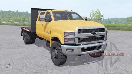 Chevrolet Silverado 4500HD Crew Cab 2018 v1.1 для Farming Simulator 2017