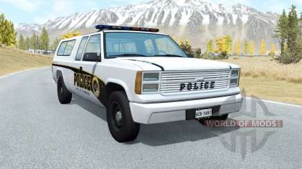 Gavril D-Series Firwood Police Department v5.3 для BeamNG Drive