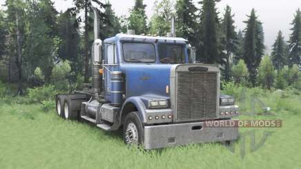 Freightliner FLD 120 SD для Spin Tires