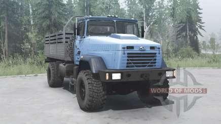 КрАЗ 5131ВЕ синий для MudRunner