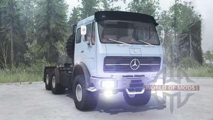Mercedes-Benz NG 2632 (Br.395) 1974 для MudRunner