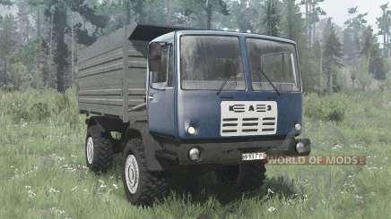 КАЗ 4540 Колхида синий для MudRunner