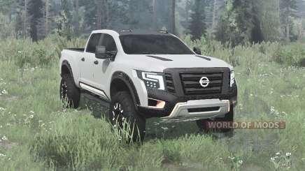 Nissan Titan Warrior concept 2016 для MudRunner