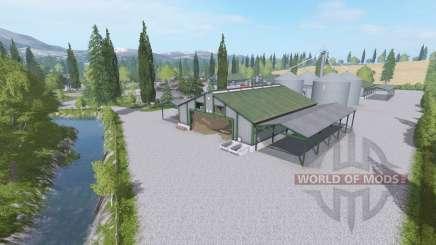 Бивер-Крик смена сезонов v1.1 для Farming Simulator 2017