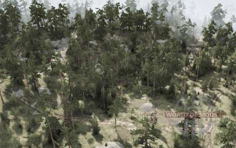 Out There для Spintires MudRunner