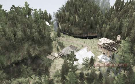 Лес 5 для Spintires MudRunner