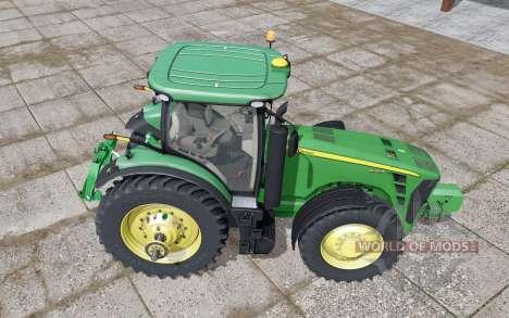 John Deere 8245R GreenStar для Farming Simulator 2017