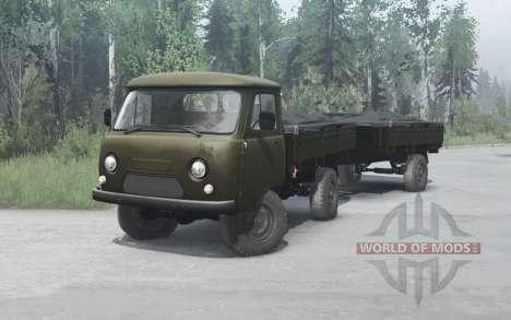УАЗ 452Д 1965 для Spintires MudRunner