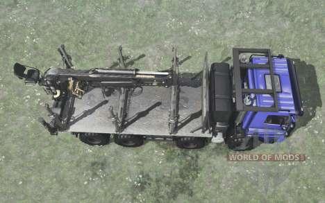 Tatra Phoenix T158 8x8 синий для Spintires MudRunner