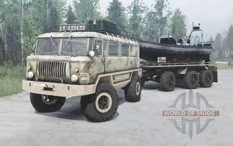 ГАЗ 66 Бобр v1.1 для Spintires MudRunner