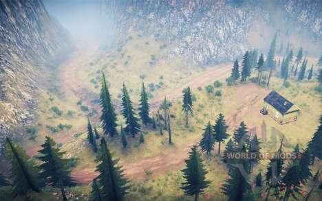 La luna 14 - Extreme logging 2 для Spintires MudRunner