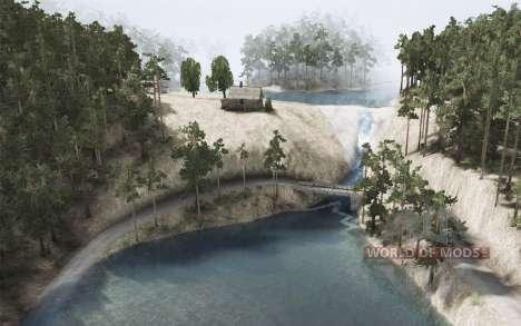 Озеро Гранд для Spintires MudRunner