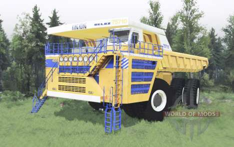 БелАЗ 75710 2013 для Spin Tires