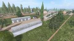 Зелёная долина v1.0.2 для Farming Simulator 2017