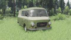 Barkas B1000 KM 1961 для Spin Tires