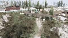 Городская окраина для MudRunner