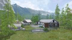 Sarntal Alps для Farming Simulator 2015