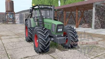 Fendt Favorit 822 forest version v3.0 для Farming Simulator 2017