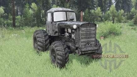 ДТ 75 колёсный для Spin Tires