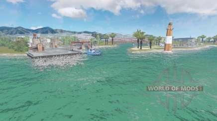 Дельта-дель-Эбро v1.1 для Farming Simulator 2015