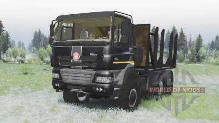 Tatra Phoenix T158-8P5 6x6 2011 black v1.2 для Spin Tires