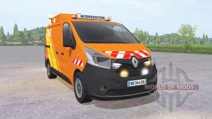 Renault Trafic Van (X82) 2014 DIR Ouest для Farming Simulator 2017