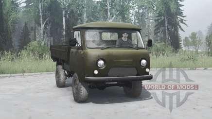 УАЗ 452Д 1965 для MudRunner