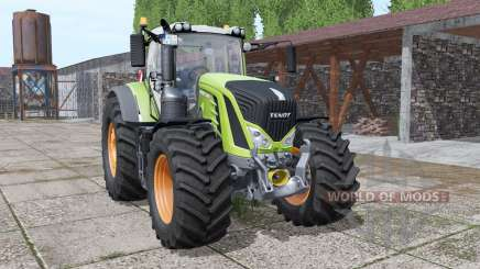 Fendt 933 Vario interactive control v2.0 для Farming Simulator 2017