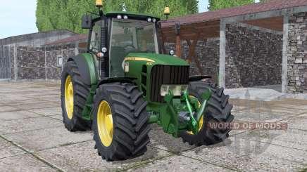 John Deere 6930 more options для Farming Simulator 2017