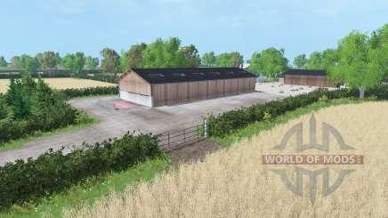 Hamilton Brothers Farm для Farming Simulator 2015
