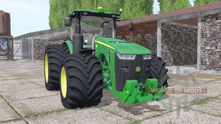 John Deere 8370R USA v4.0 для Farming Simulator 2017