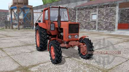 МТЗ 82 Беларус с КУНом для Farming Simulator 2017