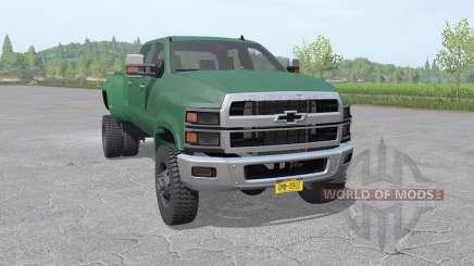 Chevrolet Silverado 4500 HD Crew Cab 2018 для Farming Simulator 2017