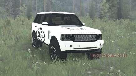 Land Rover Range Rovеr Supercharged (L322) 2005 для MudRunner