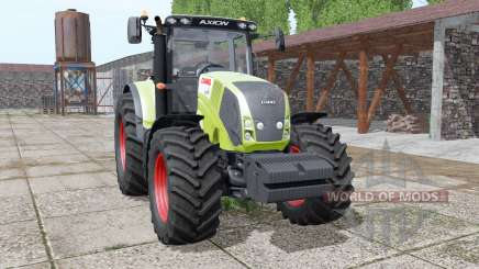 CLAAS Axion 850 animation parts для Farming Simulator 2017