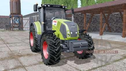 CLAAS Axion 810 v1.1 для Farming Simulator 2017