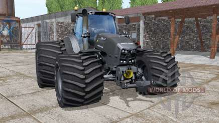 Deutz-Fahr Agrotron 7250 TTV The Beast Black для Farming Simulator 2017