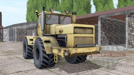 Кировец К-700А выбор двигателя для Farming Simulator 2017